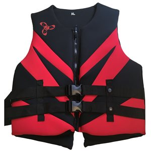 Neoprene Canadian approved outdoor sports and boating life jacket vest, MEDIUM