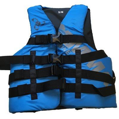 Veste de flottaison individuel de sport et de plaisance adulte de qualité, adulte, approuvé au Canada, XS