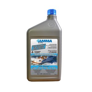 HIGH PERFORMANCE SEMI-SYNTHETIC MARINE LUBRICANT 1LITRE