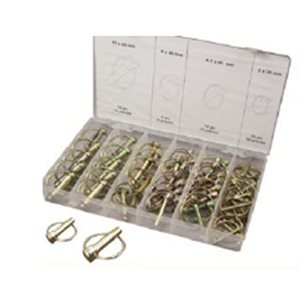 50pcs Safety Lynch Pin Assortment