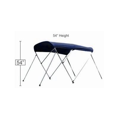 "Bimini top navy 72"" l x 54"" h x 79-84"" w"