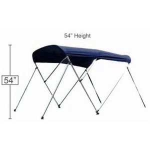 "Bimini top navy 72"" l x 54"" h x 67-72"" w"