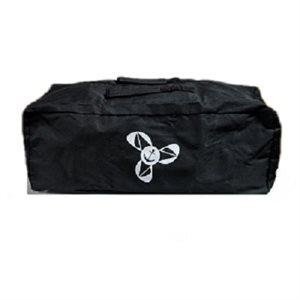 Housse de protection univ. Pour petit et moyen bbq - couleur noir