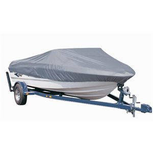 STORAGE & MOORING BOAT GREY COVER 14'-16' x 75''