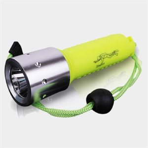 Small waterproof flashlight