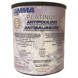 anti-fouling paint grey / qt