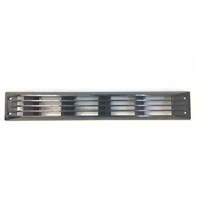 grille de ventilation noire