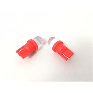 t10 guage bulb red 2-pk
