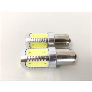 led bulb ba15s 2-pk