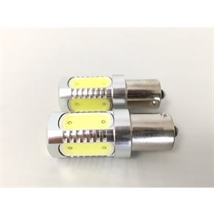 ampoule del 2-pk ba15s blanc ultra hd 12v