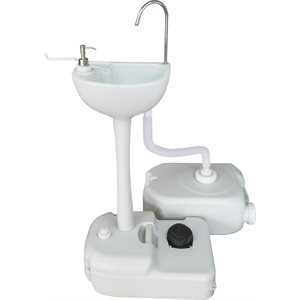 portable handwash sink stand & water tank