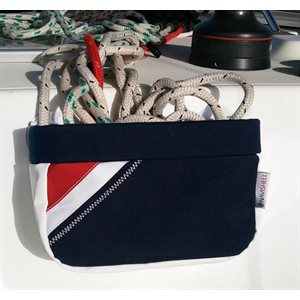 small halyard bag w / succion cup