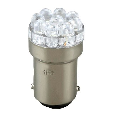 double parallel 9 led bulb