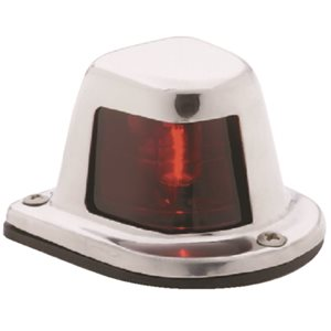 SIDE LIGHT HORIZONTAL SS RED