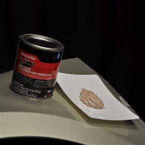 plaque à mélanger l'epoxy