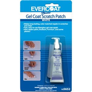 scratch patch white 1 / 2 oz
