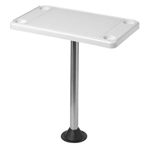 table en plastique rectangulaire 16 x 28""