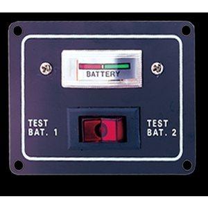 panneau vérificateur de batterie