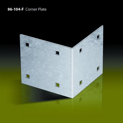 used on inside corners for increased strength  all stationary dock