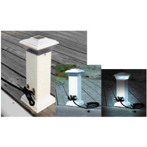 "luminaires solaire, ""solar cleat light"""