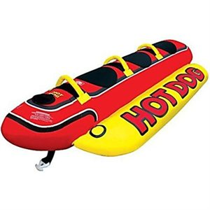 tube hot dog 3 riders