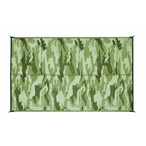 Outdoor Mat - 9' x 12' Camouflage, Green / Green
