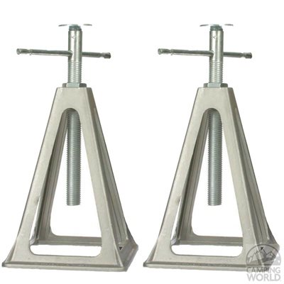 aluminum jack stands 2ea / box