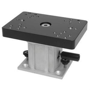 "4"" ALUMINUM SWIVEL BASE PEDESTAL MOUNT"