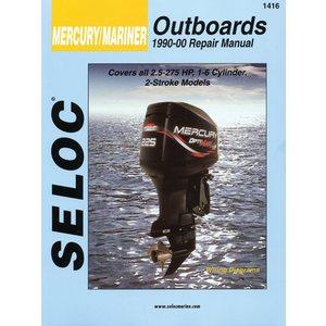 mariner outboard 1990-00 2.5-275hp 2 str motor engine repair manual