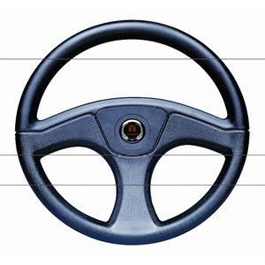 """1 / 2"""" black steering wheel"""