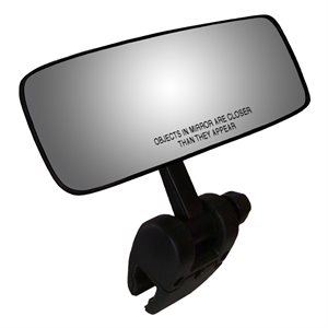 "comp ii 4"" x 11"" marine mirror black"