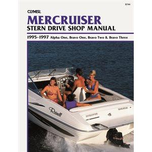 manuel d'entretien semi hors-bord mercruiser  95-1997