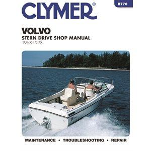 manuel d'entretien semi hors-bord volvo 68-1993