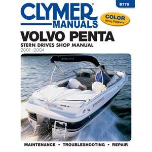manuel d'entretien pour semi hors-bord volvo penta 2001-2004