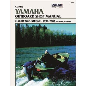 manuel d'entretien yamaha 2-250 ch 1996-98
