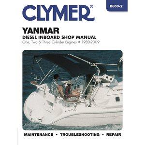 manuel d'entretien pour moteurs yanmar en-bord diesel 1980-2009.