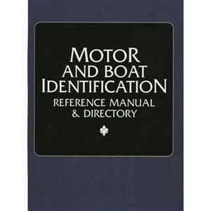 manuel d'identification bateaux / moteurs