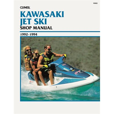 service manual kawasaki jet ski 1992-1994
