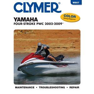 manuel d'entretien pour yamaha 4 temps pwc 2002-2009