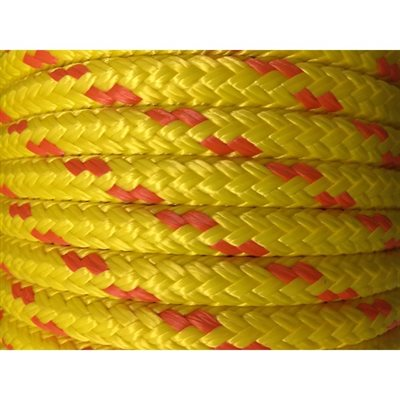 double braided floating safety line ½