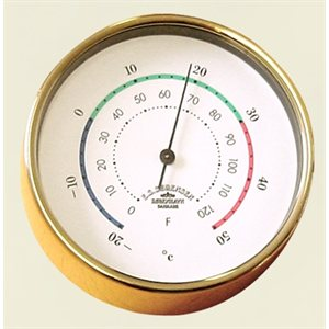 Thermometer brass