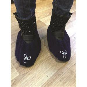 couvre chaussure deluxe noir - moyen / pr