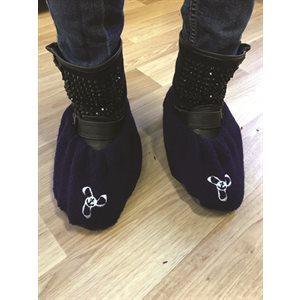 couvre chaussure deluxe noir - petit / pr