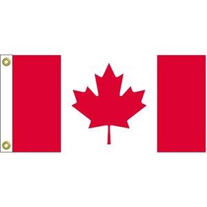 "DRAPEAU CANADA 12""X24"""