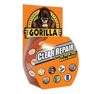 gorilla clear repair tape 9 yrd