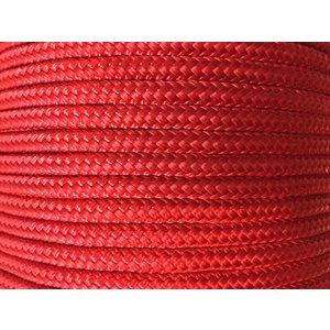 """cablot nylon tressé double 3 / 8"""" rouge"""
