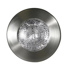 prism surface mount halogen overhead light nickel