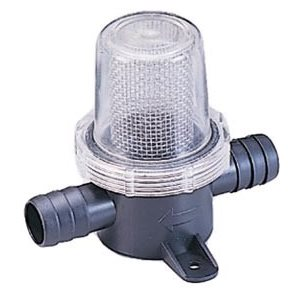 pumpguard in-line strainer