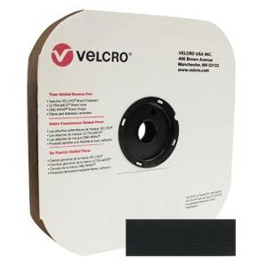 "1"" velcro® black pressure sensitive hook"