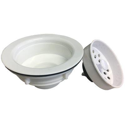 Kitchen Strainer, white